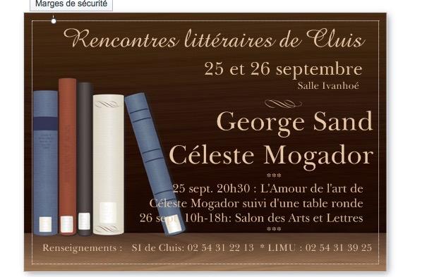 Salon des Arts et des Lettres de Cluis
