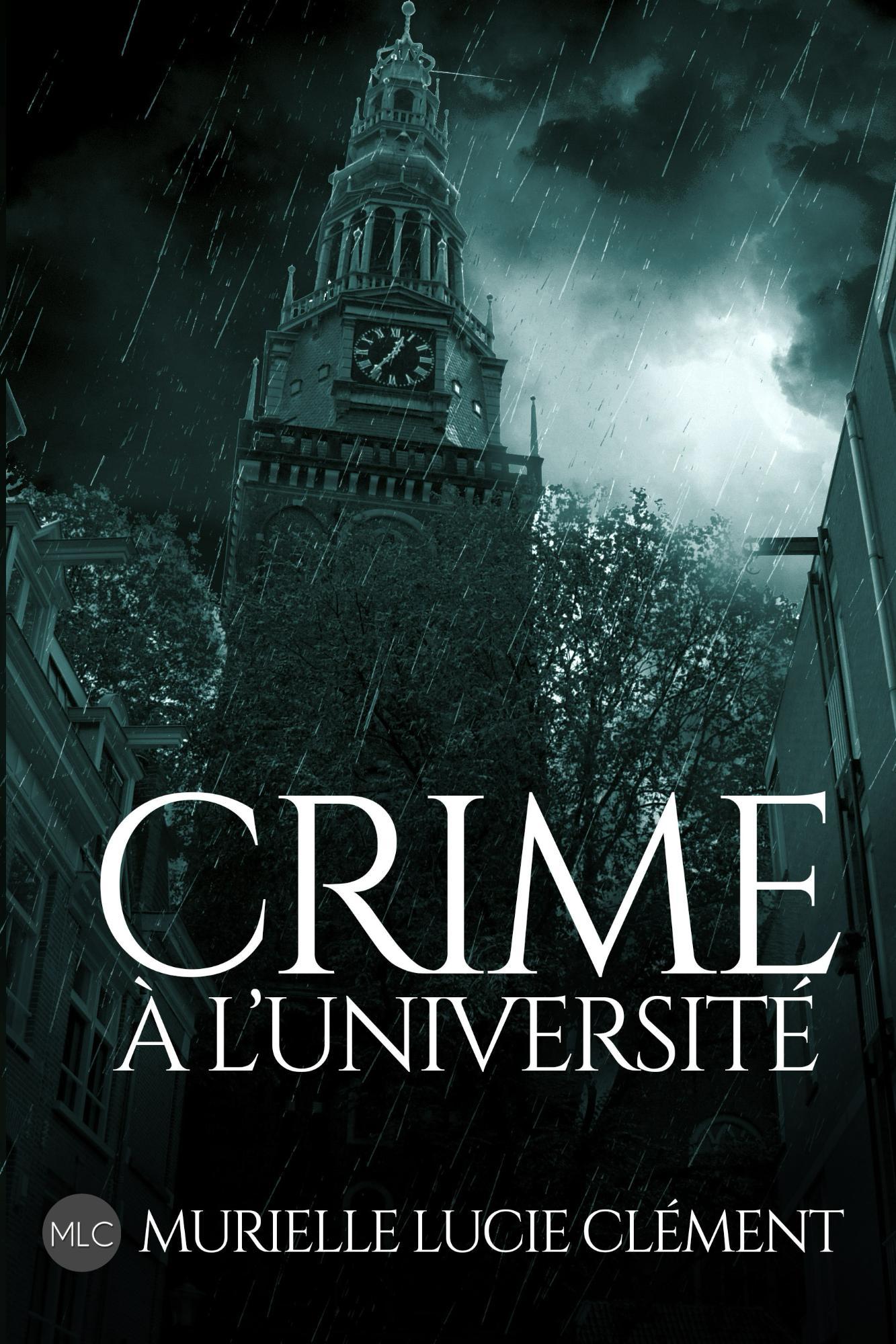 Nouvelle couverture pour Crime à l'université