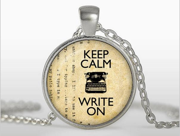 Reste calme et écris sans discontinuer !